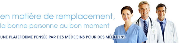 annonce medicale, medecin remplacant